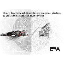 ERA Mimarlık Yaz Staj Programı 2016