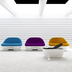 Ofiste Akışkanlık; Karim Rashid Tasarımı 'Streem'