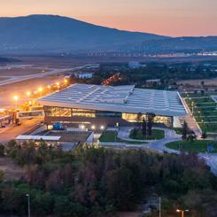 GMW Tasarımı Üsküp Havaalanı 3. Kez Avrupa'nın En İyisi