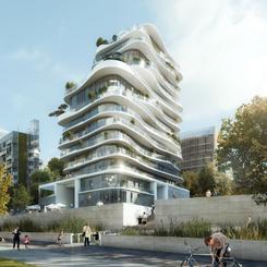 MAD'in Çevreyle Bütünleşik Rezidans Projesi; UNIC