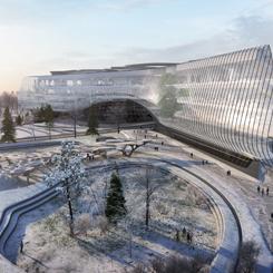Moskova'daki Sberbank Teknopark'ını Zaha Hadid Architects İnşa Edecek