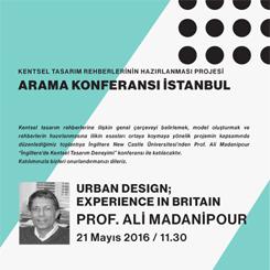 Kentsel Tasarım Rehberlerinin Hazırlanması Projesi Arama Konferansı