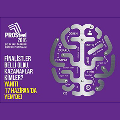 PROSteel 2016'da Finalistler Belli Oldu