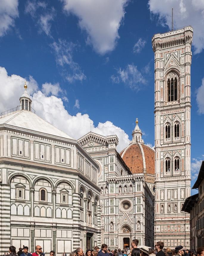 Giotto'nun Çan Kulesi - Cathedrale Santa Maria del Fiore, Floransa
