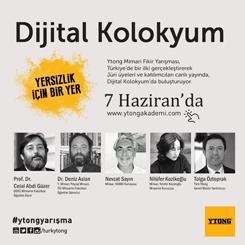 2016 Ytong Mimari Fikir Yarışması - Dijital Kolokyum