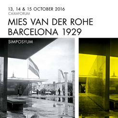 Barselona Pavyonu için 30. Yıl Sempozyumu