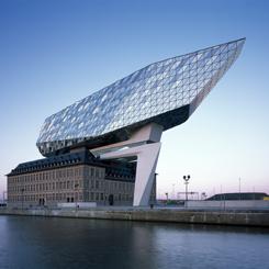 Zaha Hadid Tasarımı Antwerp Liman İşletmeleri Merkez Binası Kullanıma Açıldı