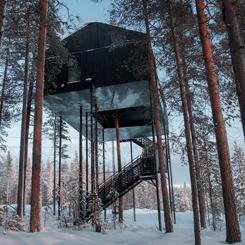 Snøhetta, Treehotel İçin Yeni Bir Ağaç-Ev Tasarladı