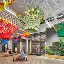 Etsy'nin Renkli Merkez Ofisinde Gensler İmzası
