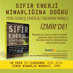 Sıfır Enerji Mimarlığına Doğru: Yeni Güneş Enerjili Tasarım Paneli - İzmir