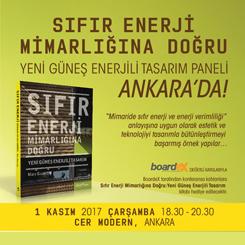 Sıfır Enerji Mimarlığına Doğru: Yeni Güneş Enerjili Tasarım Paneli - Ankara