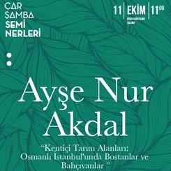 Kentiçi Tarım Alanları: Osmanlı İstanbulu'nda Bostanlar ve Bahçıvanlar