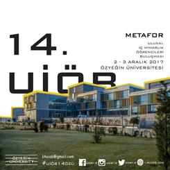 14. Ulusal İç Mimarlık Öğrencileri Buluşması (UİÖB)