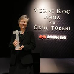 16. Vehbi Koç Ödülü'nün Sahibi Prof. Dr. Zeynep Ahunbay