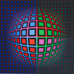 Victor Vasarely: Yanılsama ve Gerçeklik