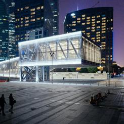 Eski Şangay Tersanesine OMA İmzalı Kongre Merkezi
