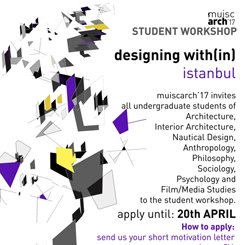 Designing with(in) Istanbul - Student Workshop