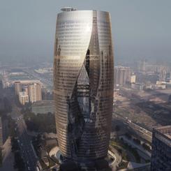 ZHA İmzalı Dünyanın En Yüksek Atriumu
