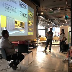 TOBB ETÜ İç Mimarlık ve Çevre Tasarımı Bölümü Mekân Tasarımı Stüdyosu V Sergisi