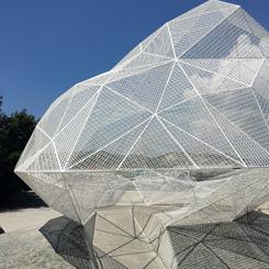 Sou Fujimoto'dan Japonya'nın Sanat Adası'na Çokyüzlü Pavyon