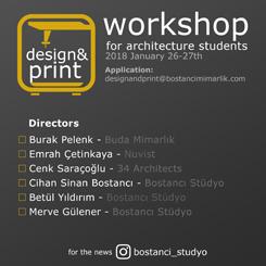 Design & Print Workshop for Architecture Students