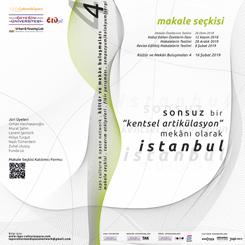 IAPS - Culture & Space Network:  'Sonsuz Bir 'Kentsel Artikülasyon' Mekanı Olarak İstanbul' Makale Seçkisi