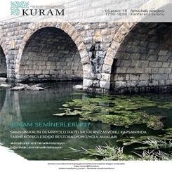 Samsun-Kalın Demiryolu Hattı Modernizasyonu Kapsamında Tarihi Köprülerdeki Restorasyon Uygulamaları