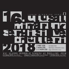 XVI. Ulusal Mimarlık Sergisi ve Ödülleri 2018