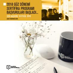 AURA İstanbul 2018 Güz Dönemi Sertifika Programı Başvuruları