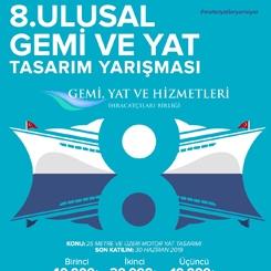 8. Ulusal Gemi ve Yat Tasarım Yarışması