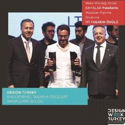 Mete Mordağ, 4 'İyi Tasarım Ödülü' Birden Kazandı