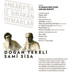 Panel #12 | Doğan Tekeli & Sami Sisa
