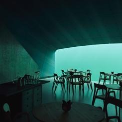 Avrupa'nın İlk Su Altı Restoranı; Under