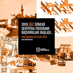 AURA-İstanbul 2019 Güz Dönemi Sertifika Programı Başvuruları Başladı