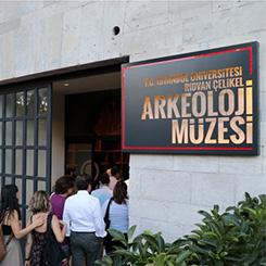 İstanbul Üniversitesi Rıdvan Çelikel Arkeoloji Müzesi Açıldı