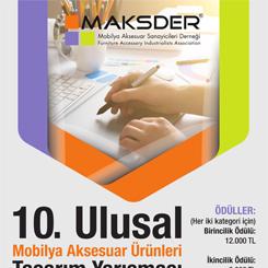 10. Ulusal Mobilya Aksesuar Ürünleri Tasarım Yarışması