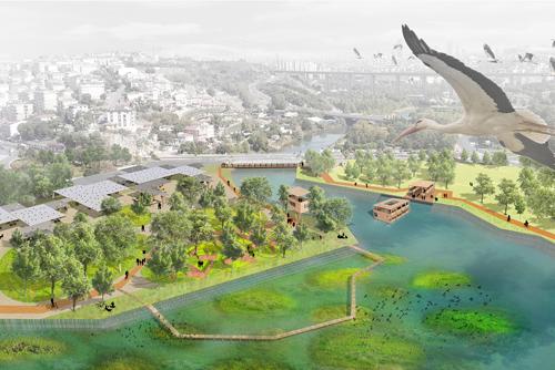 İstanbul Senin, Haliç Kıyıları Tasarım Yarışması; 5. Bölge, 1. Mansiyon