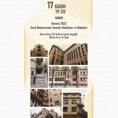 Kaunas 2022: Yerel Modernizmin Temsili, Mekânları ve İfadeleri