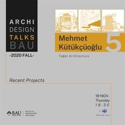 BAU ArchiDesign Talks 2020 - 5