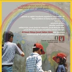 'Güvenli ve Sağlıklı Koşullarda Yaşamlarını Sürdürdüğü Bir Ülke, Çocukların En Temel Hakkıdır'