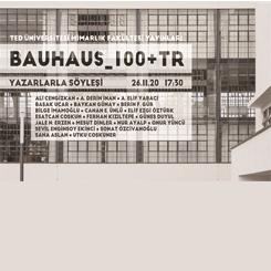 BAUHAUS_100+TR Kitap Tanıtımı ve Yazarlarla Söyleşi