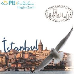 PTT'den İstanbul Konulu Pullar