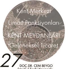 Beyazıt Seminerleri 27: İstanbul Tarihi Yarımada Hanlar Bölgesi