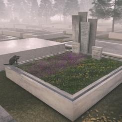 SALON Alper Derinboğaz, Cihat Burak'ın Mezar Tasarımı İle Birincilik Ödülü Aldı