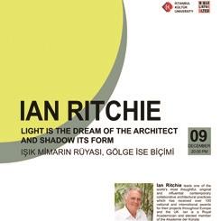 Ian Ritchie: Işık Mimarın Rüyası, Gölge ise Biçimi