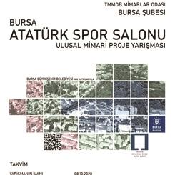 Bursa Atatürk Spor Salonu Ulusal Mimari Proje Yarışması Sonuçlandı