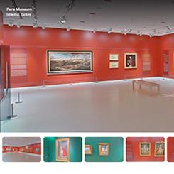 Pera Müzesi ve İstanbul Araştırmaları Enstitüsü Sergileri Dijital Ortamda