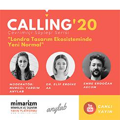 Calling'20 Söyleşileri Mimarizm ve Anylab İşbirliği ile Başlıyor