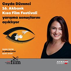 16. Akbank Kısa Film Festivali'nde Ödüller Sahiplerini Buldu