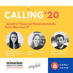 Calling'20 Söyleşileri SOM ve EAA ile Devam Ediyor